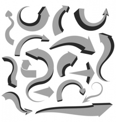 arrows design vector image