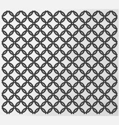 seamless chain mail design vector image vector image