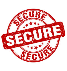 Secure stamp vector