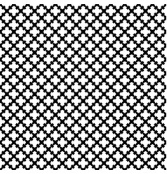 Seamless pattern black white gothic texture vector
