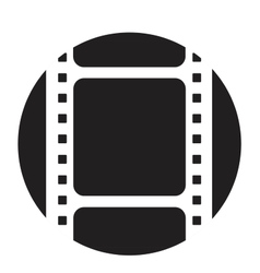Old filmstrip vector image