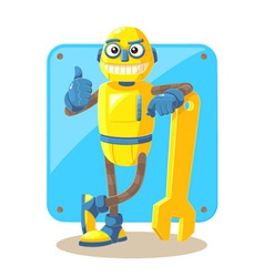 Mechanical robot vector