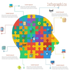 Infographics report templates in the form of the vector
