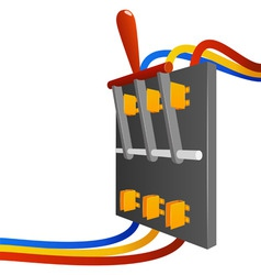 big breaker switch vector