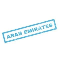 Arab Emirates Rubber Stamp vector image