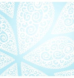 doodle twirl drops background vector image vector image