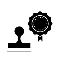 stamps icon sign on isolate vector image vector image