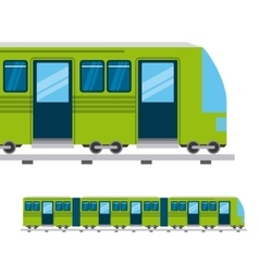 Mass transport design vector