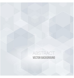 abstract background with white shapes white and vector image vector image