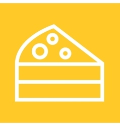 Cake Slice vector image vector image