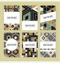 Perfect pattern set vector