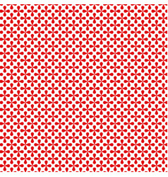 Red decorative seamless patterns grungy abstract vector