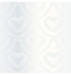 Victorian wedding pattern vector