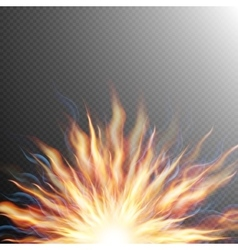 Explosion big bang fire burst eps 10 vector