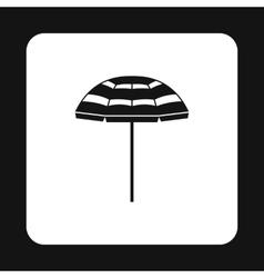 Beach umbrella icon simple style vector image vector image