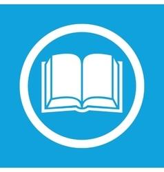 Book sign icon vector