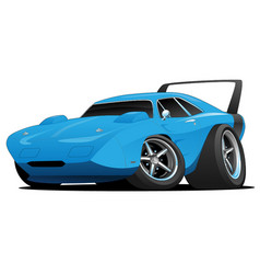 classic american muscle car hot rod vector image vector image