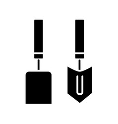 forks trowel mini icon vector image