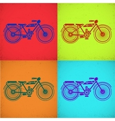 Motorcycle picture vector