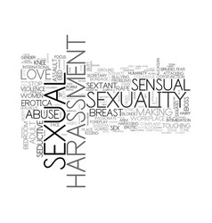 Sexuality word cloud concept vector