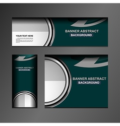 Business banner design vector