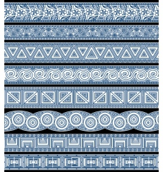 design stripes vector image