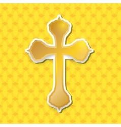 Religion cross design vector