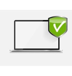 Internet Security Icon vector image