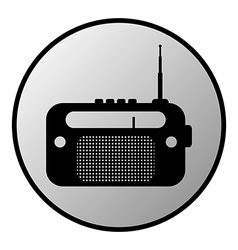 Radio button vector image vector image