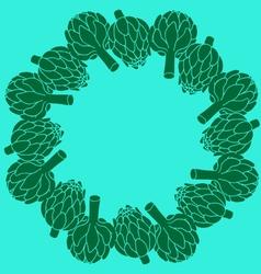 Doodle of artichoke vector