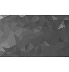 Grey polygon background vector