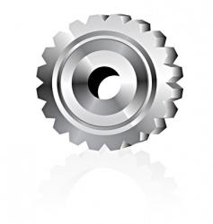 metal gear vector image vector image