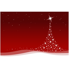 Red christmas celebration vector