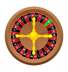 roulette casino vector image vector image