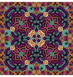 Tribal ethnic seamless pattern ornamental vector image