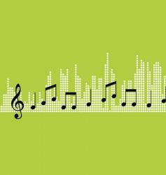 tunes vector image