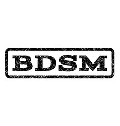 Bdsm watermark stamp vector