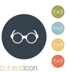Glasses vector image vector image