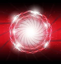 abstract explosion background vector image