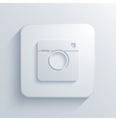 modern camera light icon vector image