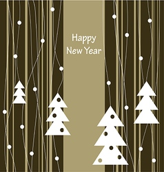 happy new year 7123 vector image vector image