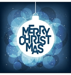 Merry christmas card design perfect as vector
