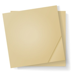Sheets of paper for notes vector