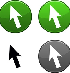 Cursor button vector
