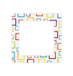 Fractal design element or banner for web vector