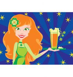 with beer vector image
