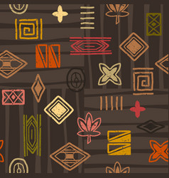 african-pattern-07 vector image vector image