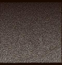 fur of reindeer texture vector image