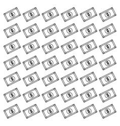 Money billets cash vector