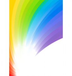 Vector rainbow background vector